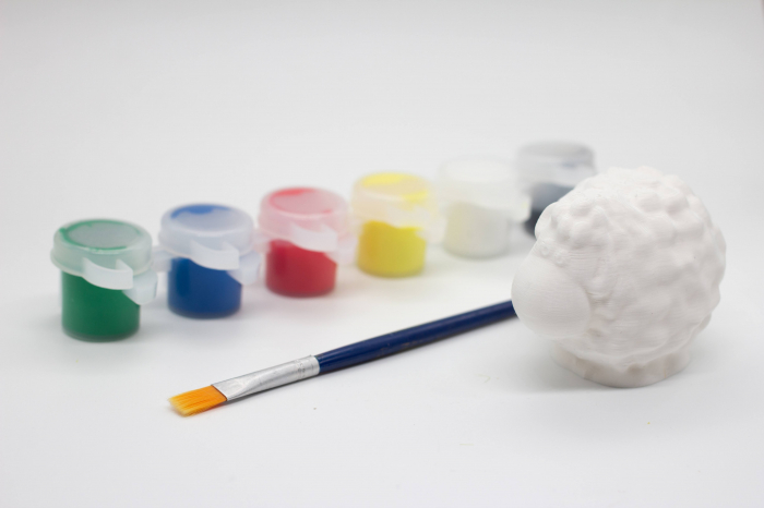 Set de pictat figurina in miniatura oita, culori acrilice 6x3ml [0]
