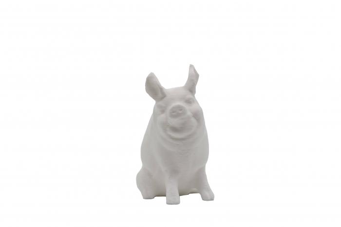 Set de pictat figurina de Porc, culori acrilice 6x3ml [0]