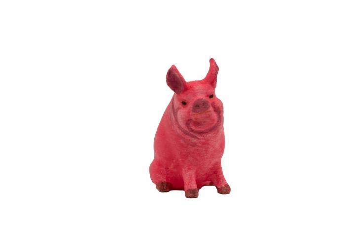 Set de pictat figurina de Porc, culori acrilice 6x3ml [1]