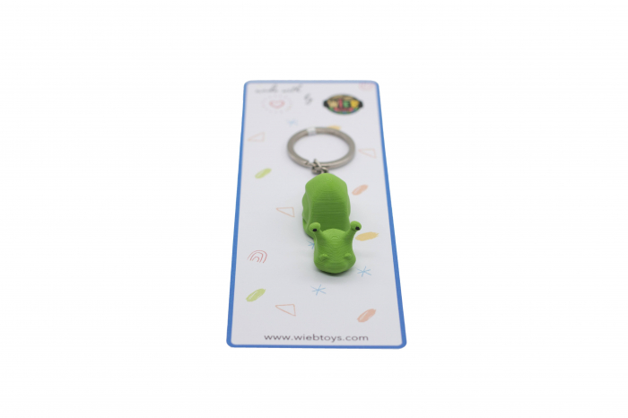 Snail keychain & phone stand - Verde [2]