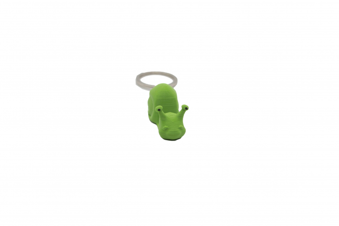 Snail keychain & phone stand - Verde [0]