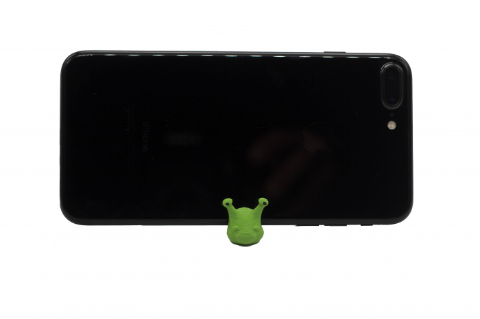 Snail keychain & phone stand - Verde [1]