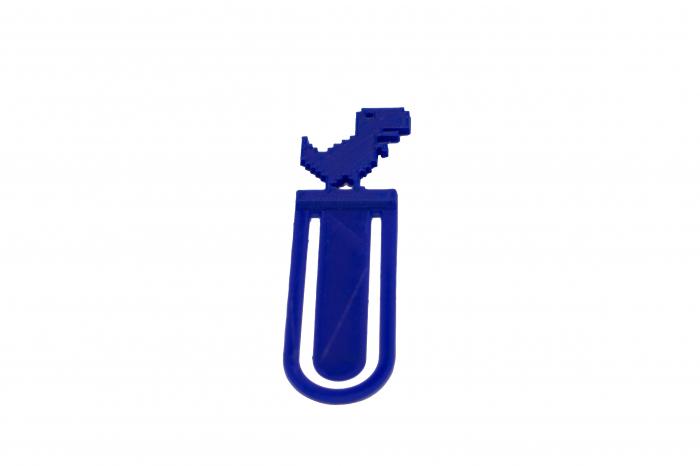T-Rex bookmark - albastru [3]