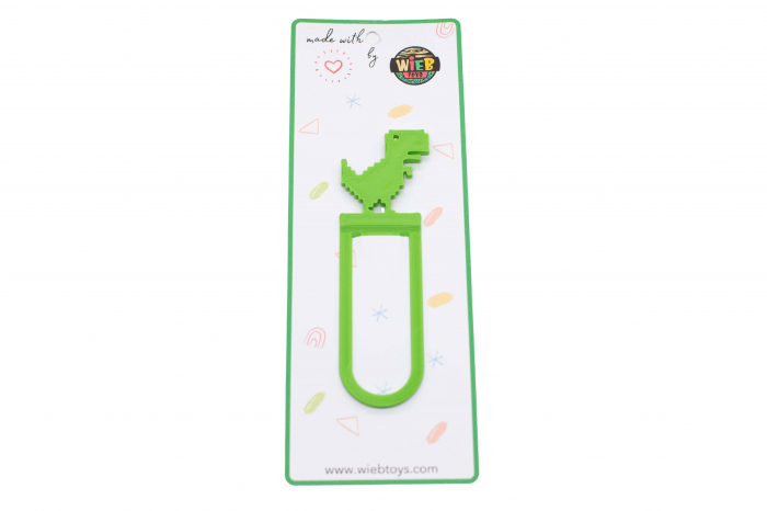 T-Rex bookmark - verde [0]