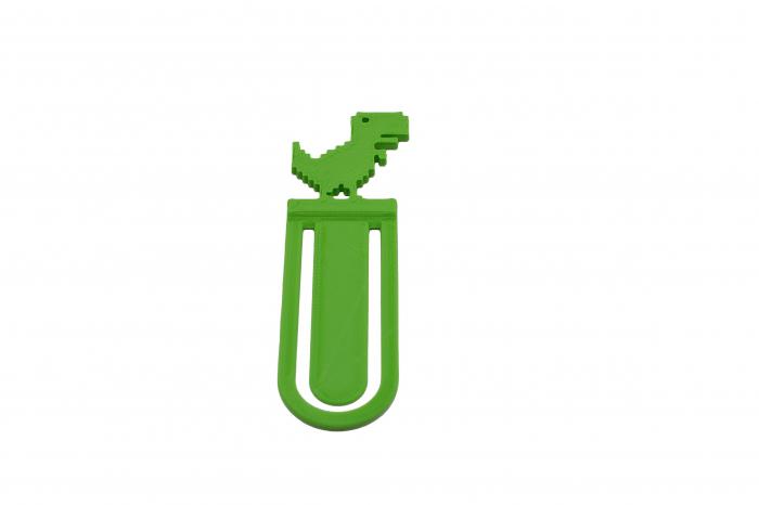 T-Rex bookmark - verde [1]