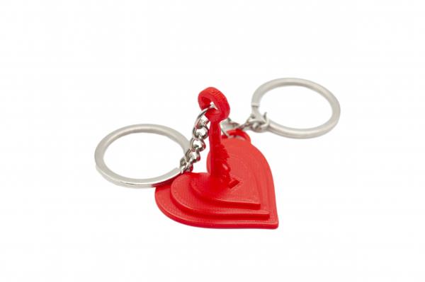 Unlock my heart Couple keychain [0]