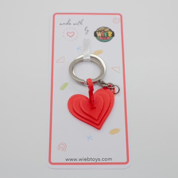 Unlock my heart Couple keychain [3]