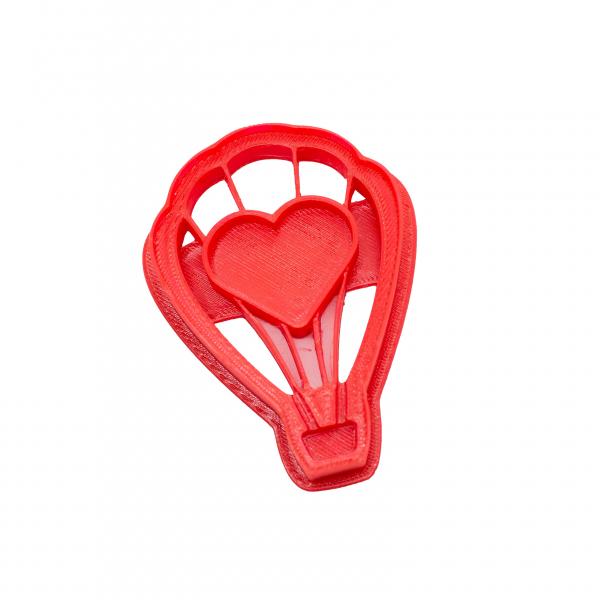 Valentine's day cookie cutter - Balloon [0]