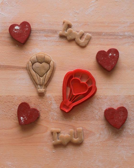 Valentine's day cookie cutter - Balloon [1]
