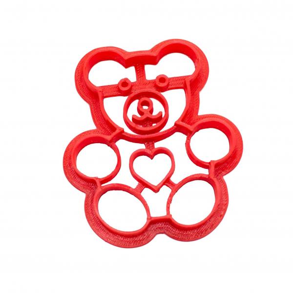Valentine's day cookie cutter - Bear [0]