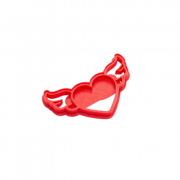 Valentine's day cookie cutter - Fly Heart - small [0]