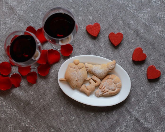 Valentine's day cookie cutter - Fly Heart - small [2]
