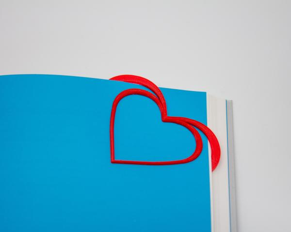 Valentine's day - Hearts bookmark [1]