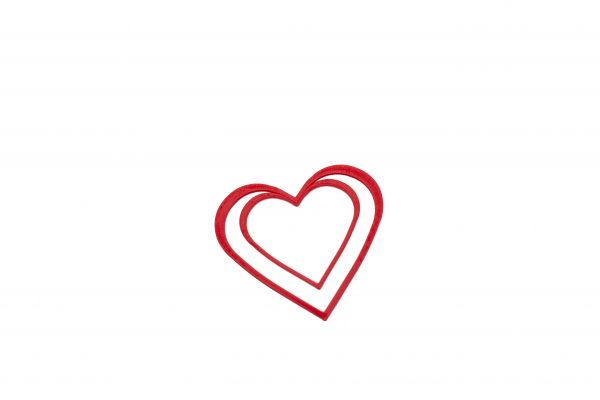 Valentine's day - Hearts bookmark [0]