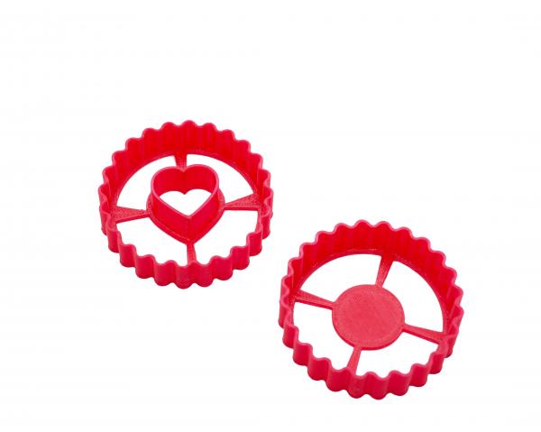 Valentine's day cookie cutter - Ischler Heart [0]