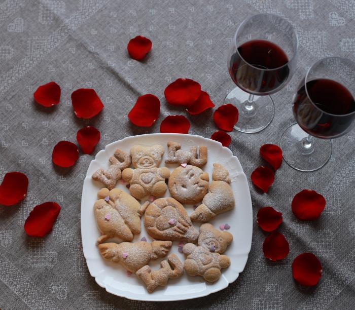 Valentine's day cookie cutter - Love birds [2]