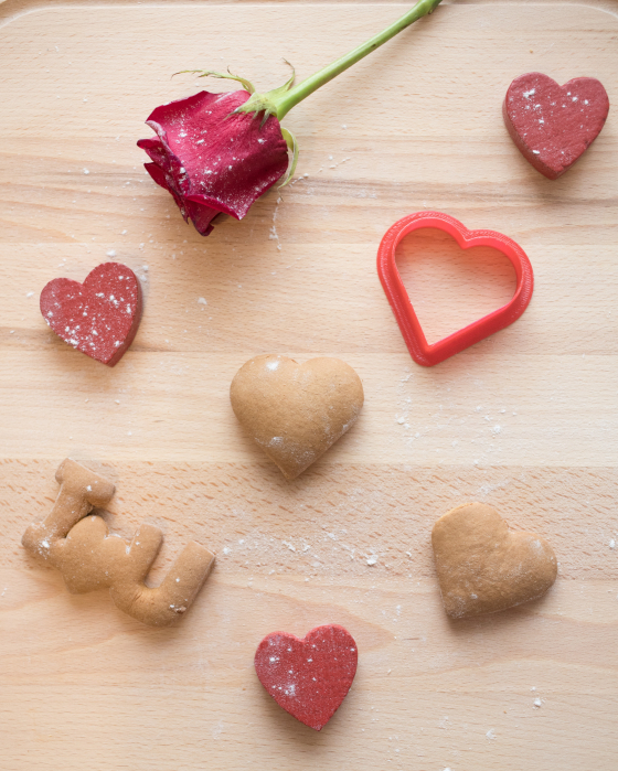 Valentine's day cookie cutter -  Simple Heart [2]