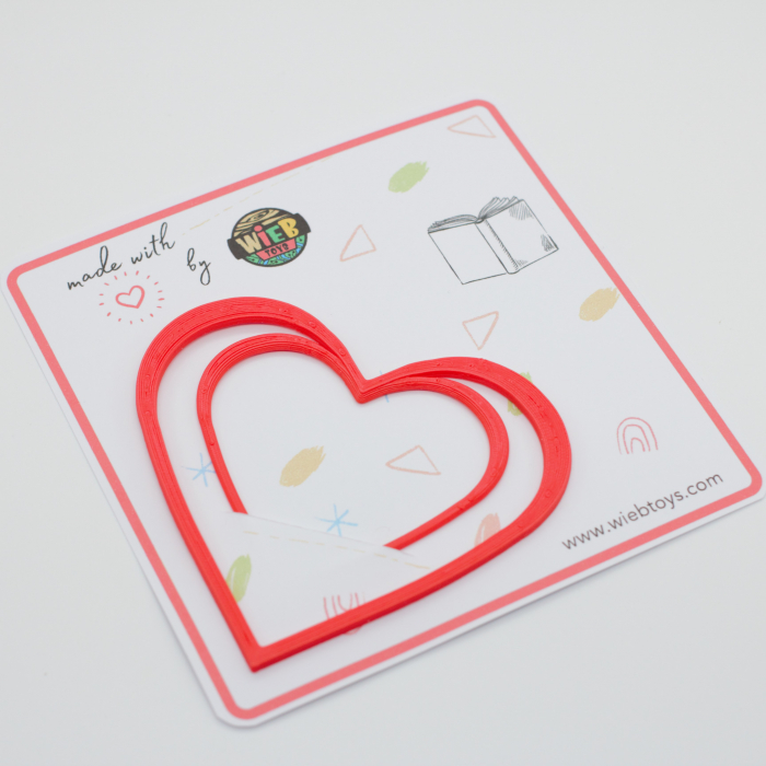 Valentine's day - Hearts bookmark [3]