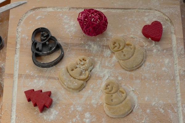Xmas Cookie cutter - Om de zăpadă [2]