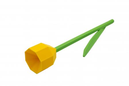 3D Lego Tulip - galben [0]
