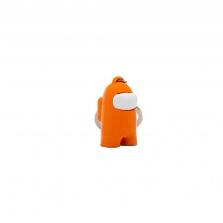 Among Us Keychain | 3D printed - orange [0]