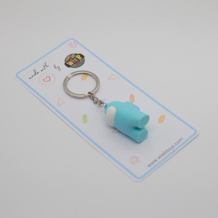 Among Us Keychain | 3D printed - albastru [1]