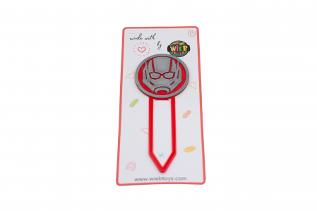 Ant-Man bookmark - rosu [0]