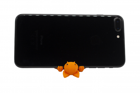 Bat keychain & phone stand - Portocaliu [1]