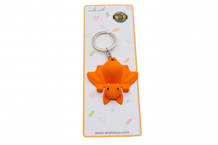 Bat keychain & phone stand - Portocaliu [2]