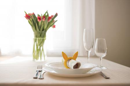 Bunny Napkin ring - galben [2]