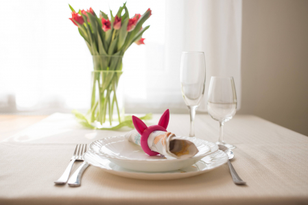Bunny Napkin ring - pink [5]