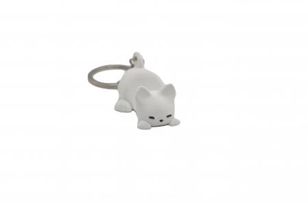 Cat keychain & phone stand - Alb [0]