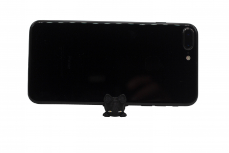 Cat keychain & phone stand - Negru [1]