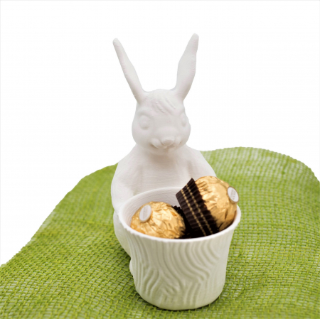 Chocolate container bunny [0]