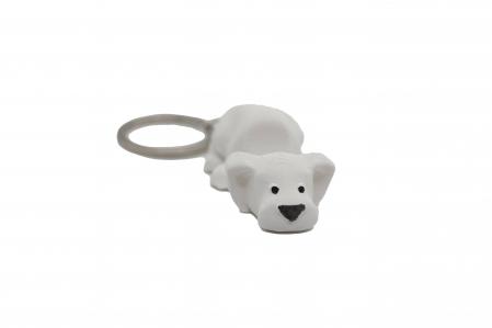 Dog keychain & phone stand - Alb [0]