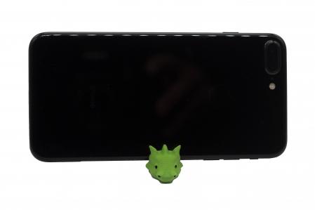 Dragon keychain & phone stand - Verde [1]