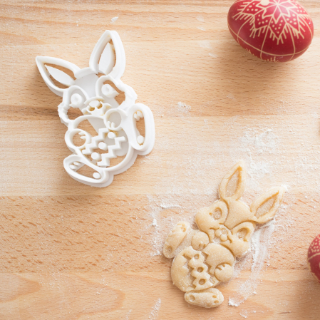 Easter's cookie cutter - Bunny with easter egg [3]