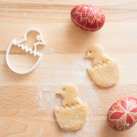 Easter's cookie cutter - Chicken in egg [2]