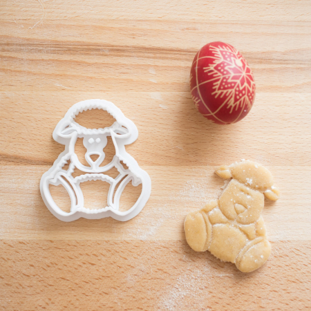 Easter's cookie cutter - Cute sheep [2]