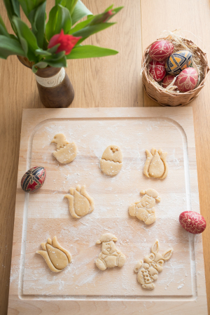 Easter's cookie cutter - Cute sheep [1]