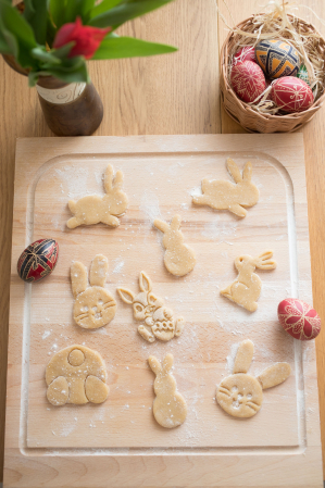 Easter's cookie cutter - Sitting rabbit [1]