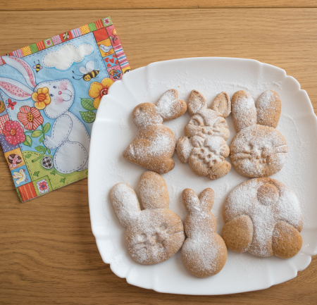 Easter's cookie cutter - Sitting rabbit [3]