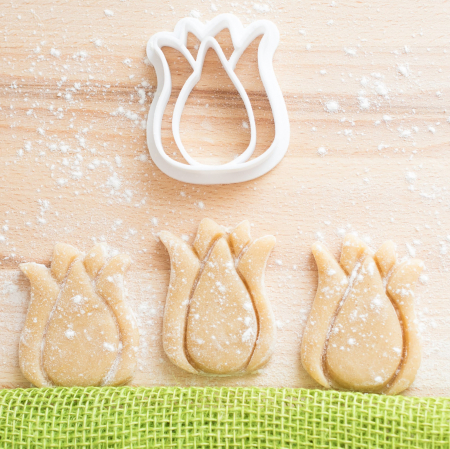 Easter's cookie cutter - Tulip [4]