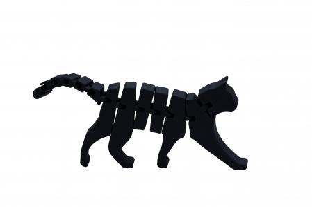 Flexi Cat - Negru [0]
