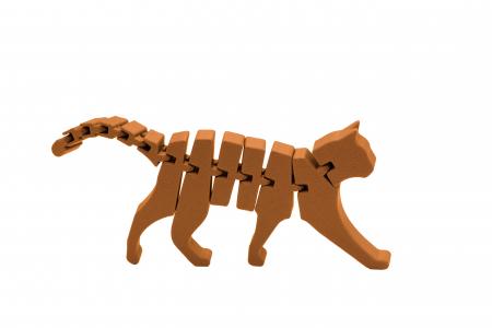 Flexi Cat - Portocaliu [0]