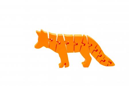 Flexi Fox - Portocaliu [0]