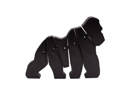 Flexi Gorilla - Negru [0]