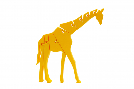Flexi Giraffe - Galben [0]