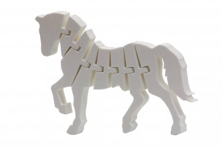 Flexi Horse - Alb [0]