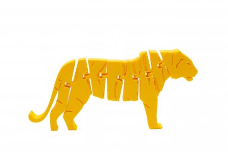 Flexi Tiger - Galben [0]